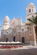 Cadiz Cathedral, Andalusia, Spain Stock Photos