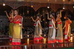 Thai dances Stock Photos