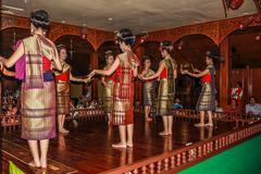 Thai dancers Stock Photos
