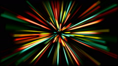 Colorful lines Stock Footage