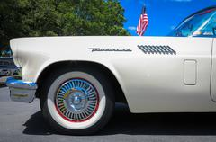 1957 Ford Thunderbird Stock Photos