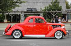 1935 Ford Coupe Stock Photos