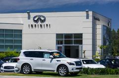 Infinit Automobile Dealership - stock photo