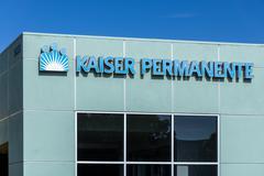 Kaiser Permanente Medical Care Building Stock Photos