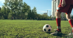 Football Match Stock Footage