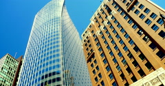 4K Modern Architecture and Traditional Architecture, Metropolis City Stock Footage
