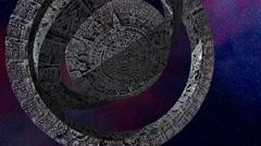mayan calendar - stock footage