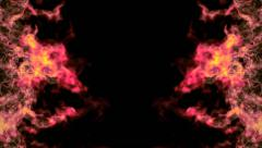 Flames Abstract Background Stock Footage