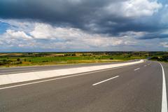 mountain road in Turkey Anatolia region - stock photo