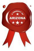 A Product Of Arizona - stock illustration