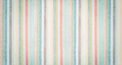 Striped colorful fabric textured vintage background Stock Photos