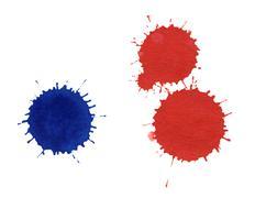 Paint splatters Kuvituskuvat