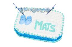 Children birthday cake Stock Photos