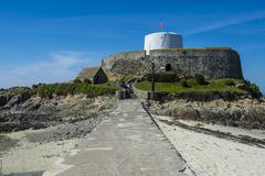 Fort Grey Shipwreck Museum, Saint Pierre du Bois, Guernsey, Channel Islands, - stock photo