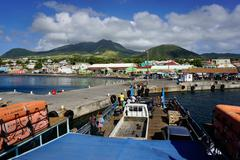Basseterre, St. Kitts, St. Kitts and Nevis, Leeward Islands, West Indies, Stock Photos
