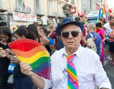 Naples, 2015 - Mediteranean Gay Pride - stock photo