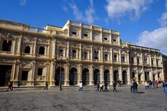 Ayuntamiento, Plaza de San Francisco, Seville, Andalucia, Spain, Europe Stock Photos