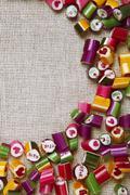 Background candy caramel color, frame Stock Photos