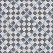 seamless  rhomboid shape tiles of blue and gray color - stock photo