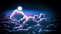Awesome clouds Stock Illustration