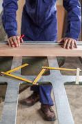 The carpenter desktop - stock photo