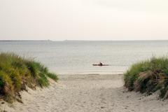 Kayaking on the Chesapeake Bay Stock Photos