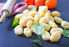 gnocchi - stock photo