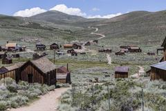 Bodie Wild West Ghost Town Stock Photos