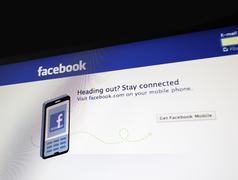 Facebook for mobile Stock Photos