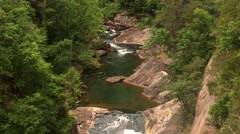 Tallulah Gorge State Park Stock Footage