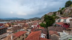 Nafplio Sunset Stock Footage