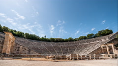 Stock Video Footage of Epidaurus Amphitheatre