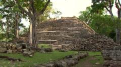 Mayan Copan Ruins Stock Footage
