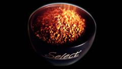 Nescafe Gold Premium Select (Pre keyed) Stock Footage