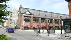 St Lawrence Market Toronto Front Street Stock Footage