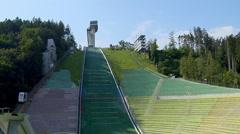 Bergisel Ski Jump, Innsbruck, Austria Stock Footage