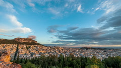 Athens Cityscape Stock Footage