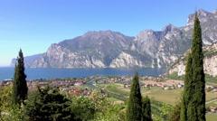 Torbole, Lake Garda, Italy Stock Footage