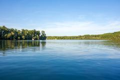 Stock Photo of idyllic lake