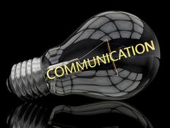 Communication Stock Illustration