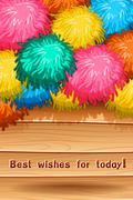 Best wish Stock Illustration