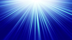 Blue light rays seamless loop background 4k (4096x2304) Stock Footage