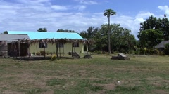 Wala island south pacific Stock Footage