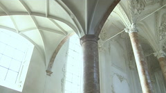 Interior Of Hofkirche Church Innsbruck Stock Footage