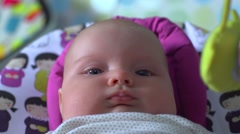 New Born Baby Stock Footage