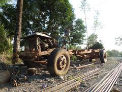 Dilapidated Truck Stock Photos