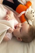 Baby's Bedtime - stock photo