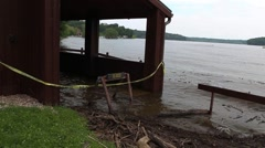 Indiana Flooding Spring 2015 Stock Footage