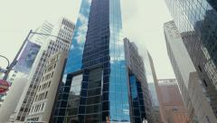 Fitch Ratings building in New York City Stock Footage