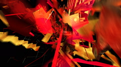 Abstract party Projection - stock footage